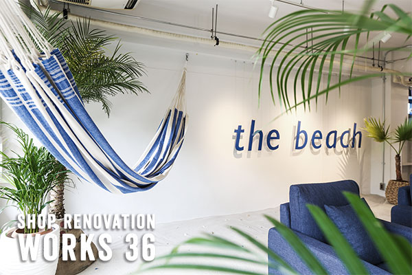 WORKS 35 the beach