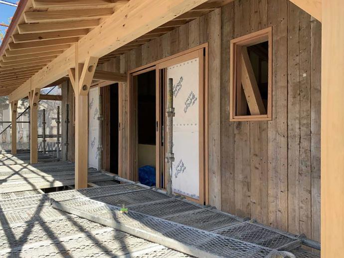 大工工事3:外壁工事