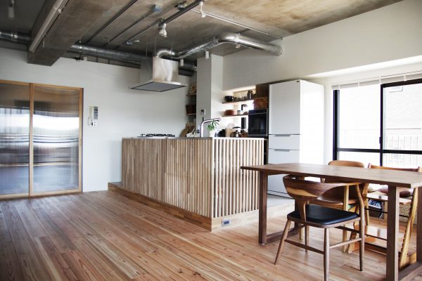 WORKS 26「変幻自在のワンルーム」名古屋市天白区・マンションリノベーション