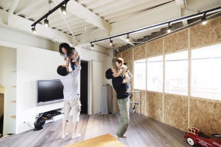 WORKS 90「BORDERLESS」名古屋市昭和区・一戸建てリノベーション