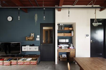 WORKS 86「ナイトパーラー」名古屋市東区・一戸建てリノベーション