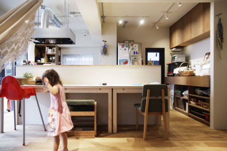 WORKS 101「ファミリースタジオ」名古屋市瑞穂区・マンションリノベーション