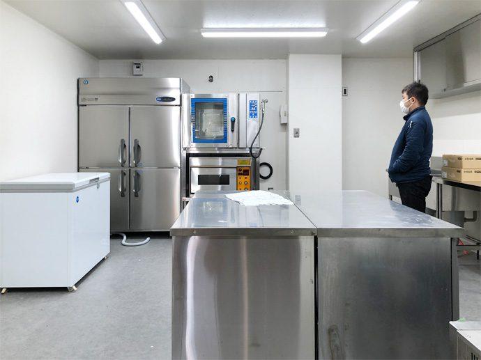 【ハチカフェ(鶴舞・カフェ)】厨房機器搬入・設置