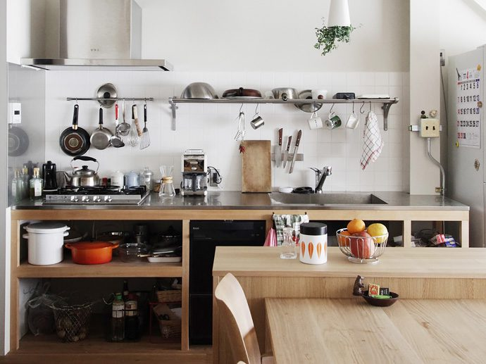 【8LOG】木×ステンレスのオリジナルキッチン