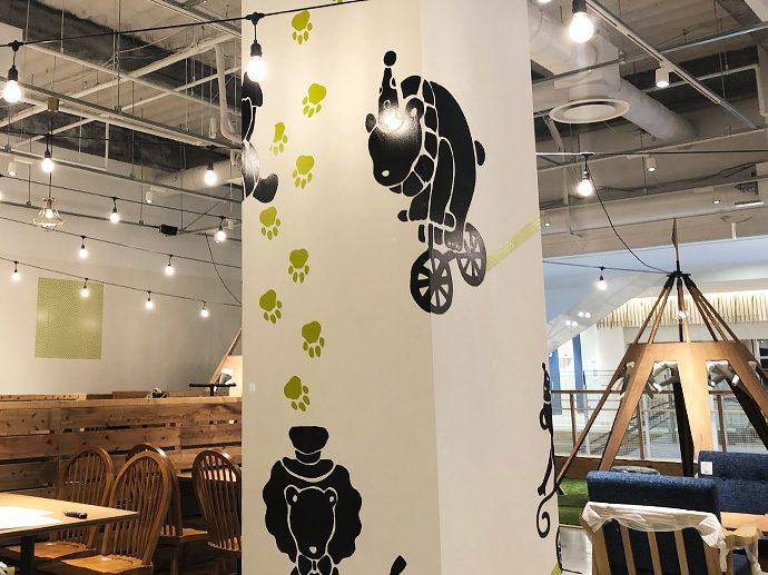【EIGHT PARK CAFE ららぽーと名古屋みなとアクルス店】サイン工事