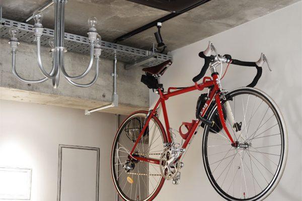 マンションならではの都市型生活を。趣味を楽しむインテリア「自転車編」