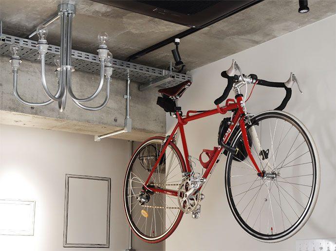 【インテリアのアイデア集】マンションならではの都市型生活を。趣味を楽しむインテリア「自転車編」