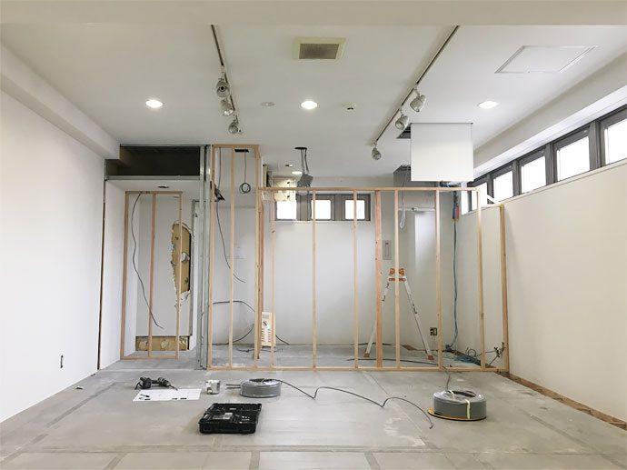 【TELACO本山校(千種区・学童保育)】大工工事