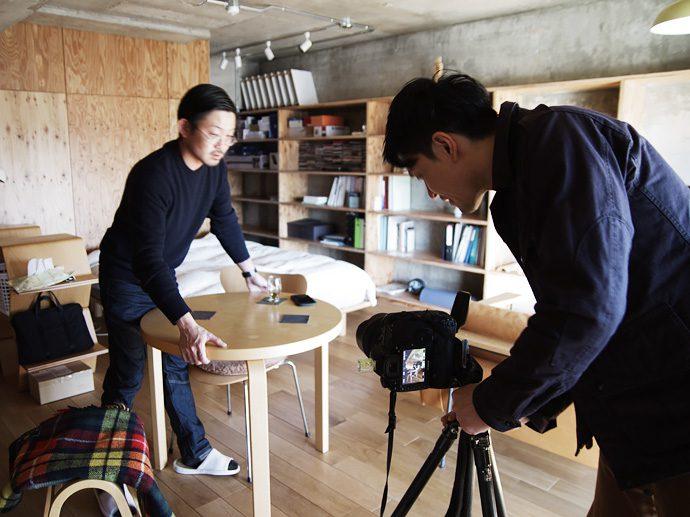 【8LOG】アウトドア雑誌の取材撮影へ