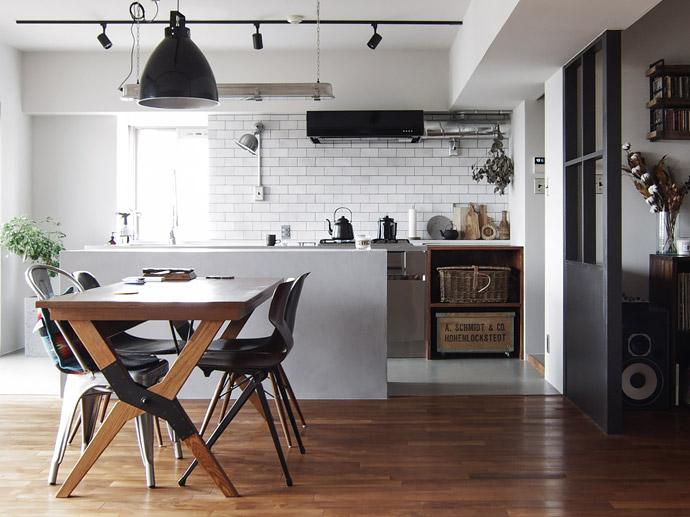 見た目と使いやすさを両立したキッチンを考える vol.3「I型(壁付け)キッチンの事例集」
