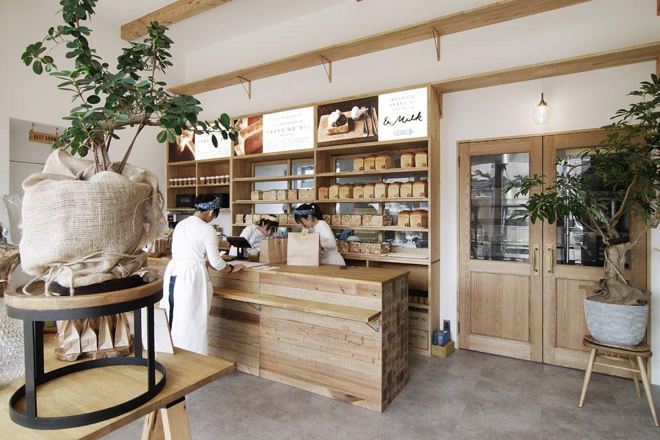 SAKUMACHI商店街の食パン専門店+カフェ「つばめパン &Milk」 見学会+セミナー