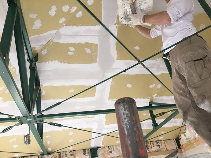 【日進市N様邸】天井塗装開始