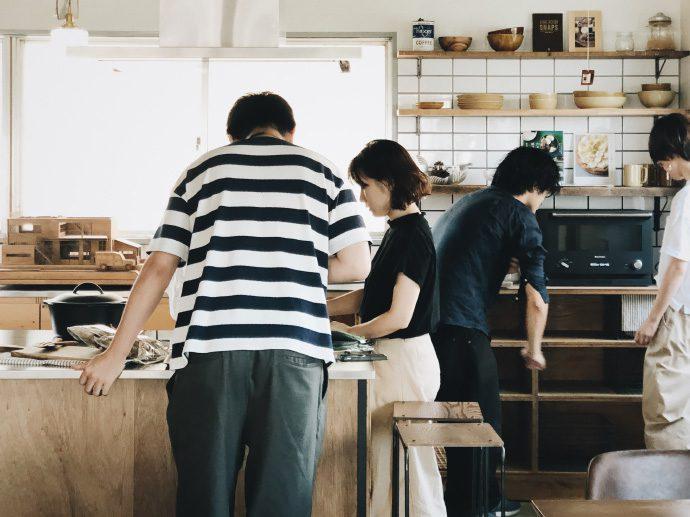 【8LOG】定休日のEIGHT TOWNのキッチンで