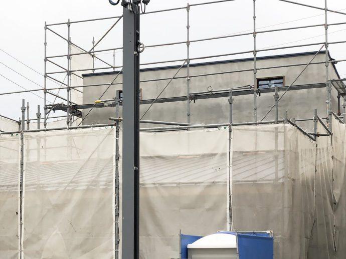 【新築・コンセプトハウス】外壁は左官仕上げで