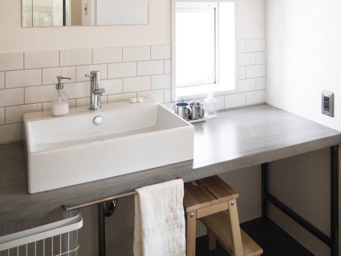 【日進市H様邸】スッキリとした洗面室