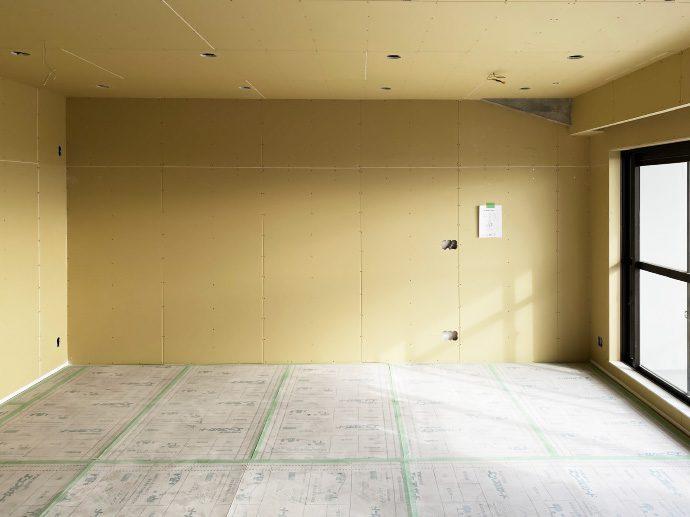 【犬山市M様邸】大工工事:石膏ボード貼り3