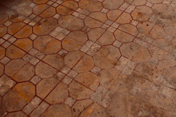 市場に来たら床を見よ ドンナイ省 ベトナム
