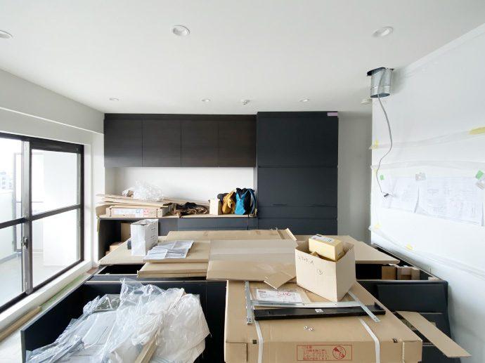 【犬山市M様邸】キッチン設置