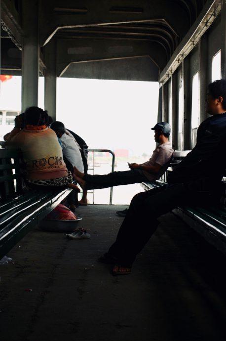 【旅の記録】フェリーのキャットウォーク @ホーチミン ベトナム