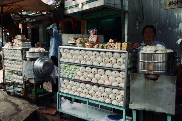市場のディスプレイ @ドンナイ省 ベトナム