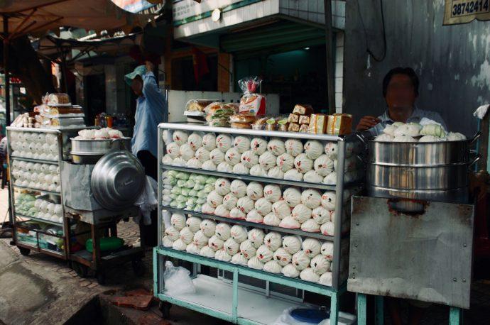 【旅の記録】市場のディスプレイ @ドンナイ省 ベトナム