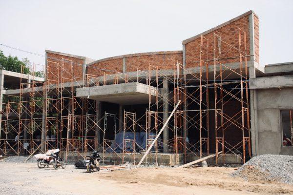 ベトナムの建築現場 @ベトナム