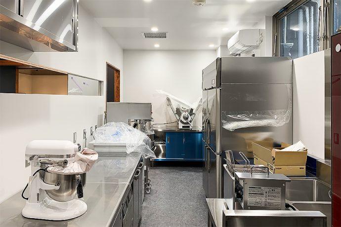 【ハチカフェ阿佐ヶ谷店】厨房機器搬入・設置