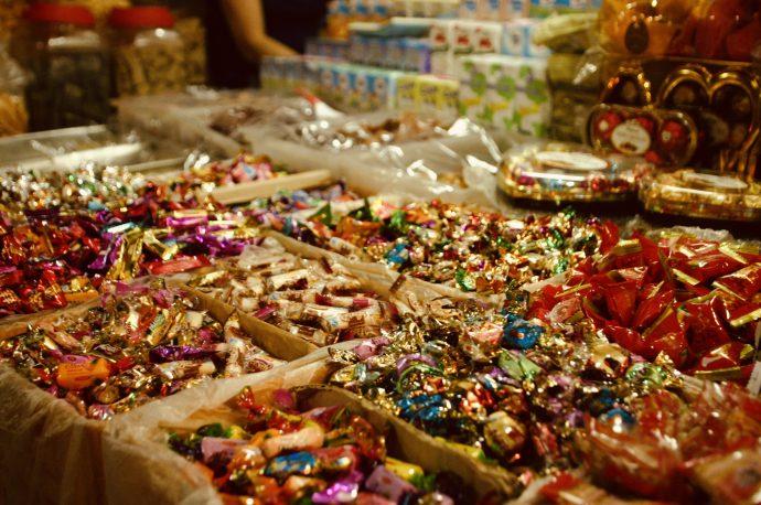 【旅の記録】お菓子エリア @ロシアンマーケット カンボジア