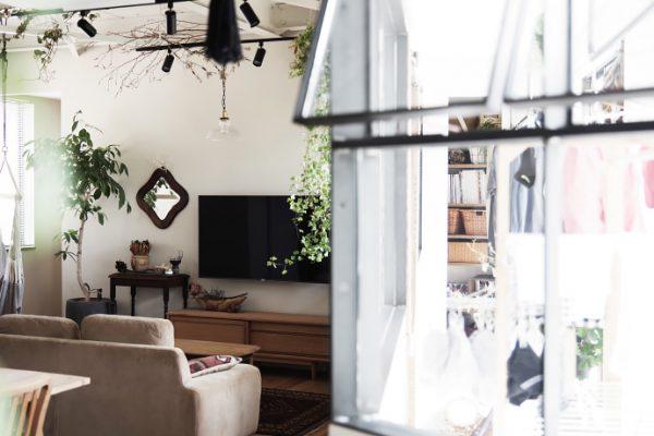 洗濯+干す+片付ける。すっきり暮らす室内干しスペースのアイデア