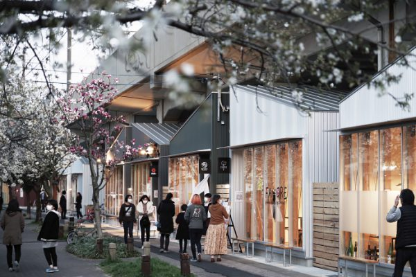 SAKUMACHI商店街II期エリア3/27オープンです