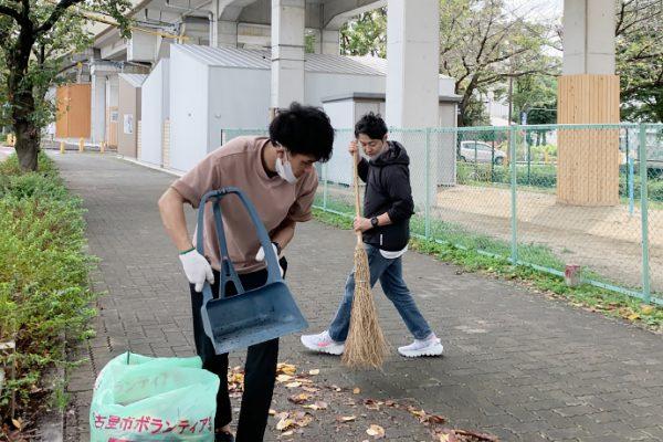 SAKUMACHI商店街 一斉清掃