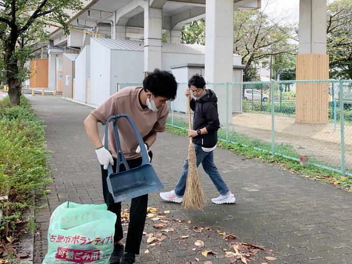 【SAKUMACHI商店街】SAKUMACHI商店街 一斉清掃