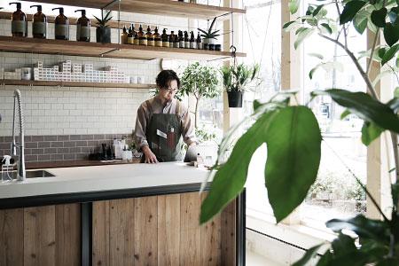 EIGHT SALON|美容室の店舗デザイン