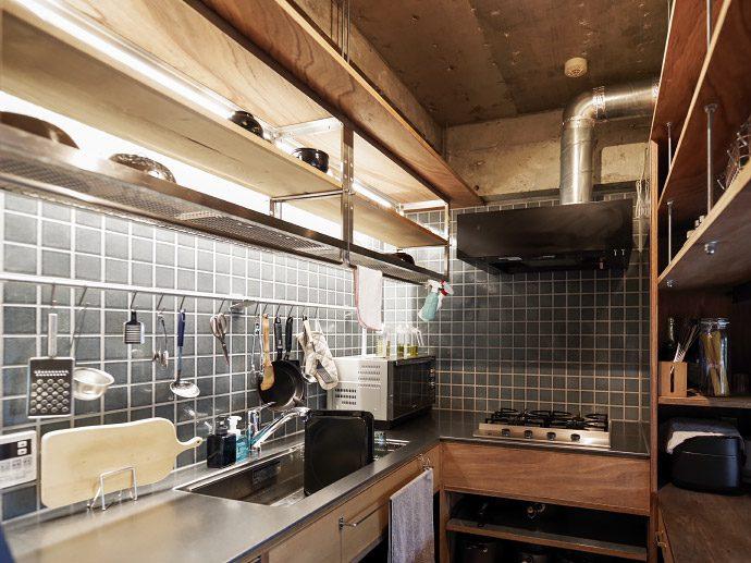 【8LOG】インテリアのコラム「キッチン造作収納のアイデア」を公開!
