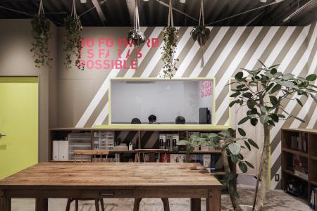 エイトデザイン東京オフィス|阿佐ヶ谷高架下のオフィスデザイン
