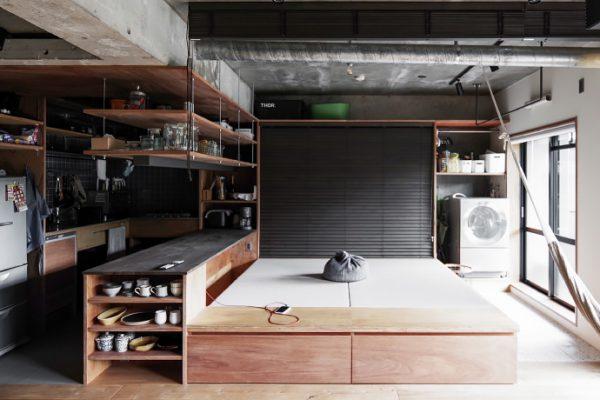 所沢でリノベーション 洗濯+片付ける。スッキリ暮らすスペースのアイディア