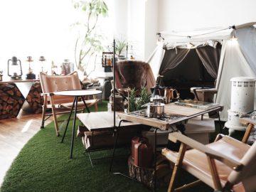 事例掲載:キャンプサイトみたいなオフィスデザイン