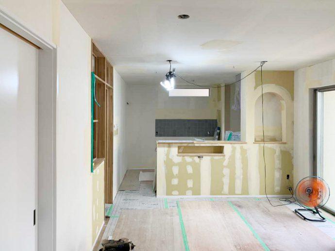 【弥富市H様邸一戸建てリノベーション】塗装工事・内装仕上げ工事